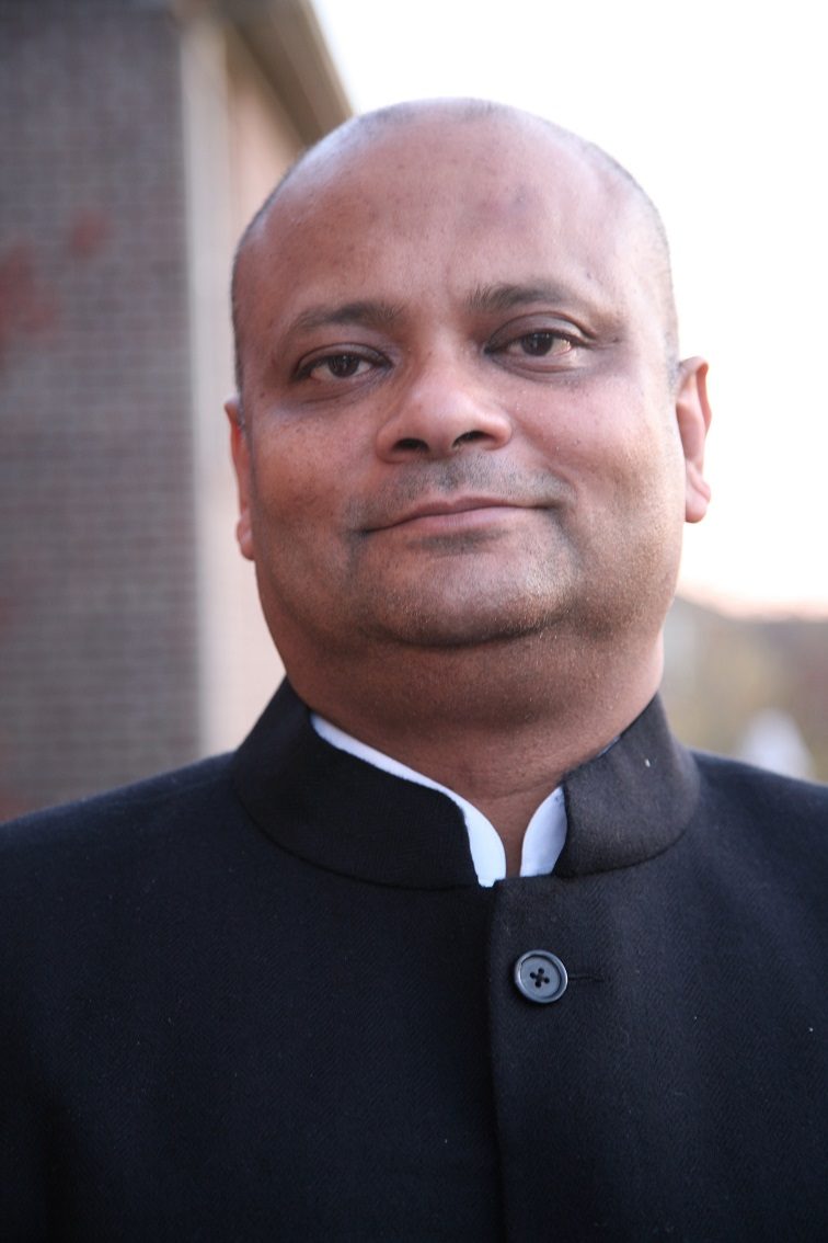 Pic of Consul General Anupam Ray