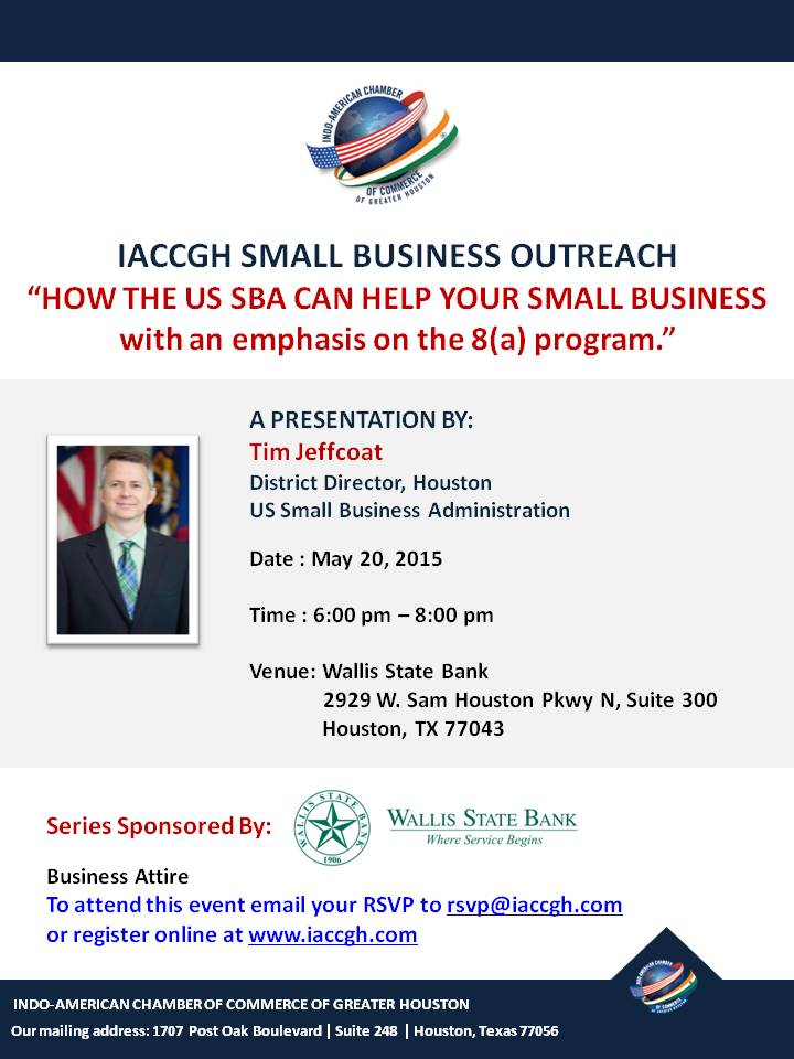 May 20 SMALL BUSINESS EVENT
