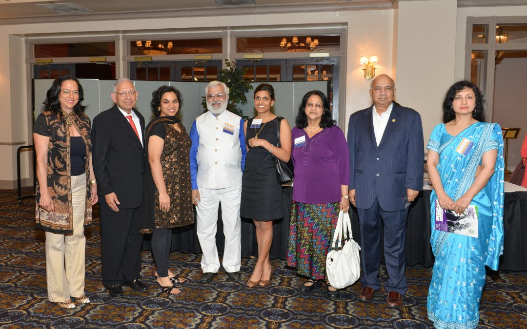 host reception in honor of The University of Texas MD Anderson Cancer Center Global Academic Programs Partners from India