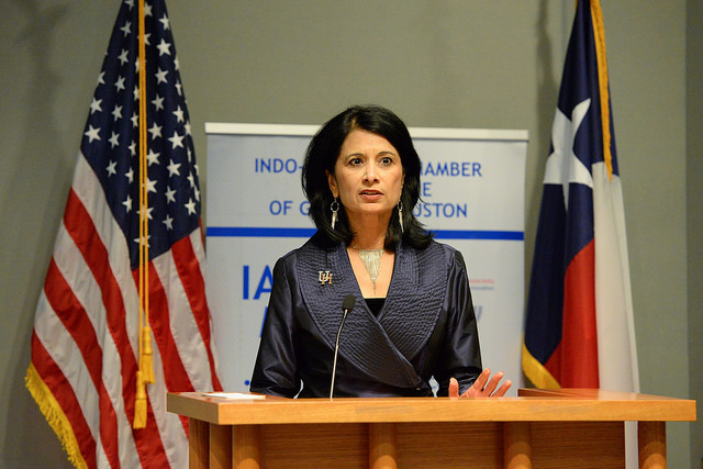 Distinguished Lecture Featuring Dr.Renu Khator Chairwoman of the Dallas Federal Reserve