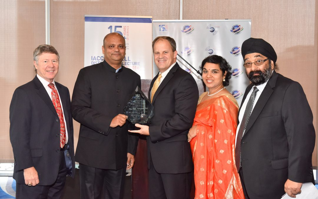 Distinguished Lecture delivered by Consul General Anupam Ray