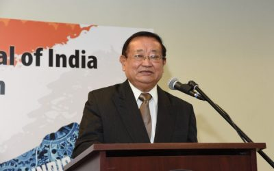 Distinguished Lecture with Ambassador Rinzing Wangdi and Consul General Dr. Anupam Ray