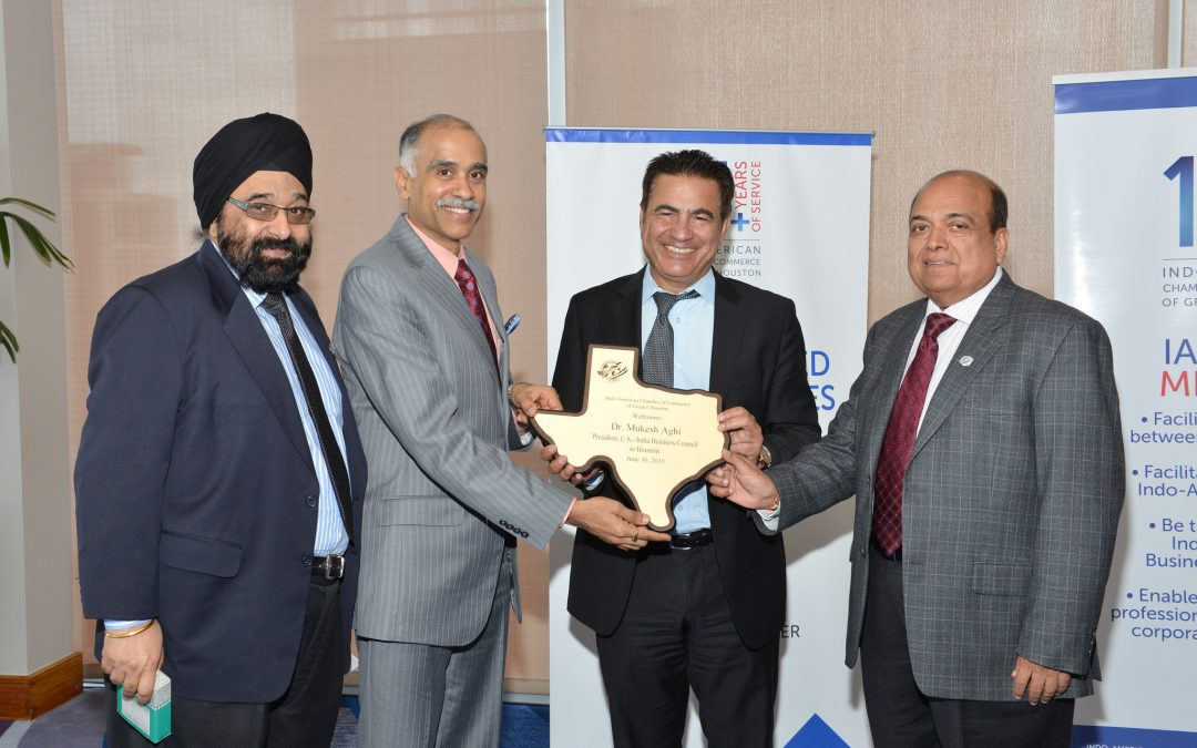 Distinguished Lecture featuring Mukesh Aghi, President, U.S – India Business Council
