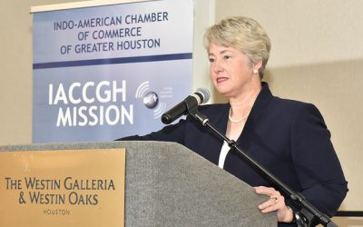 Women Mean Business featuring former Mayor Annise Parker and Dean Latha Ramchand