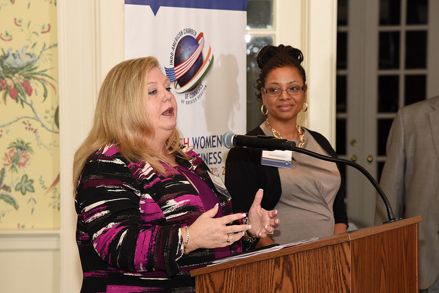 Women Mean Business featuring Michele McNichol and Ingrid Robinson