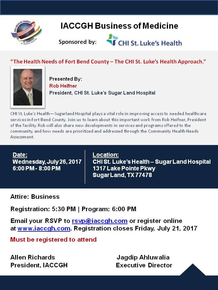 MEDICAL - July 26, 2017 - CHI