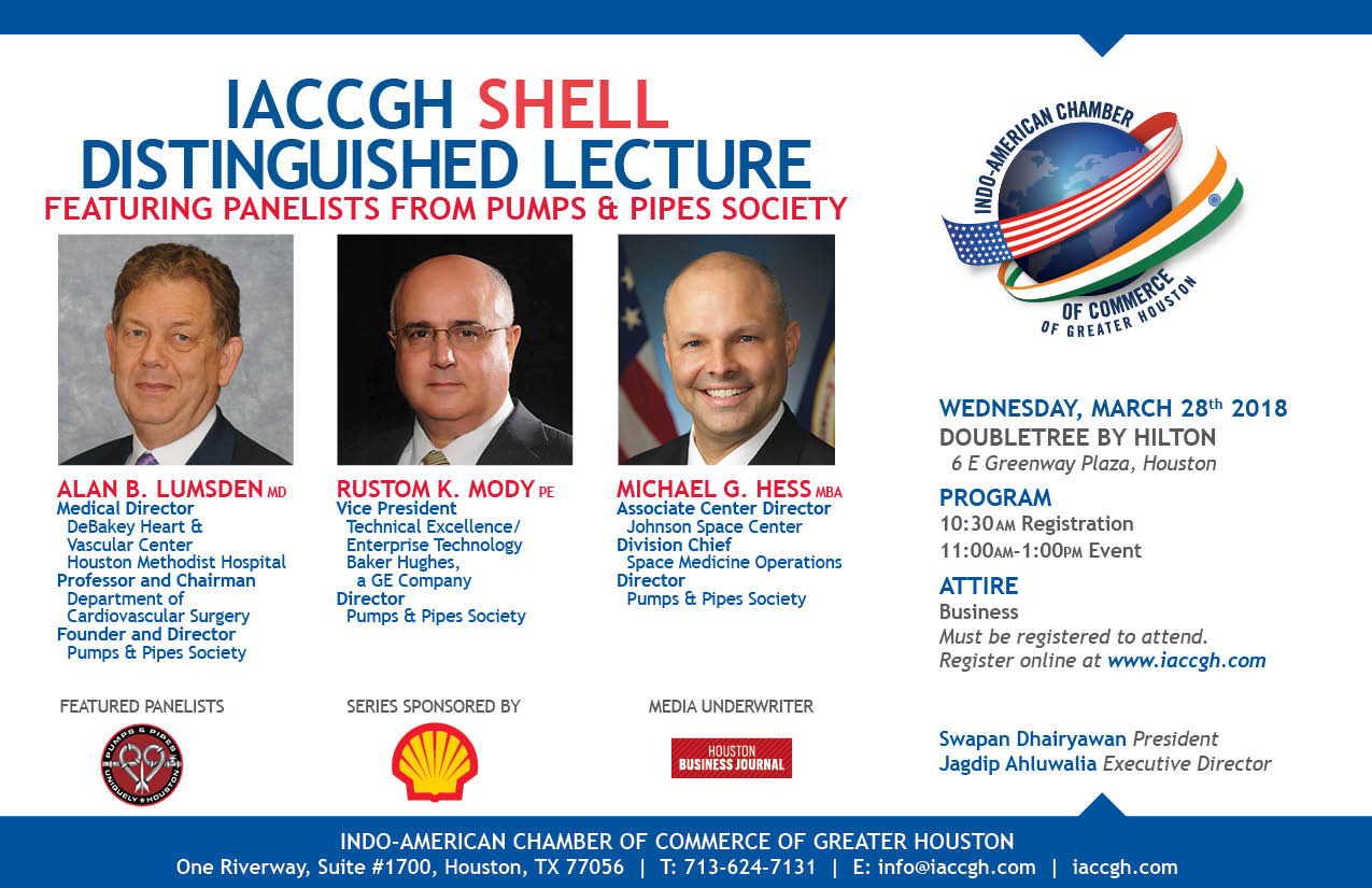 Distinguished Lecture Series - Sponsored by SHELL - The Indo