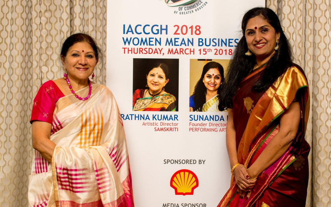 IACCGH Shell Women Mean Business Series –  Featuring Rathna Kumar and Sunanda Nair