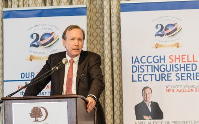 IACCGH Shell Distinguished Lecture featuring Neil Bush.