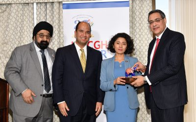 IACCGH Power Luncheon with County Judge Lina Hidalgo and CG Aseem Mahajan