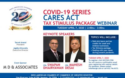 Covid-19 CARES Act Tax Stimulus Package Webinar