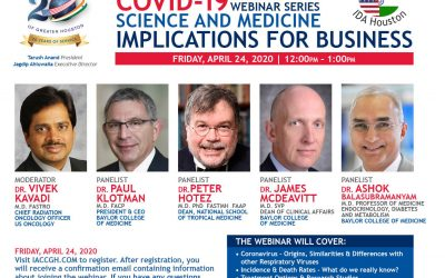 Covid-19 Webinar Series: Science and Medicine Implications for Business