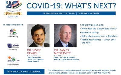 Covid-19 webinar series: Covid-19: Whats Next