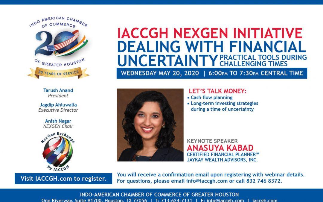 IACCGH Nexgen Initiative: Dealing with Financial Uncertainty