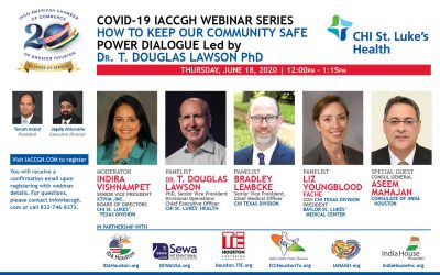 Covid-19 Webinar Series: How to Keep our Community Safe,Power Dialogue led by Dr. Lawson