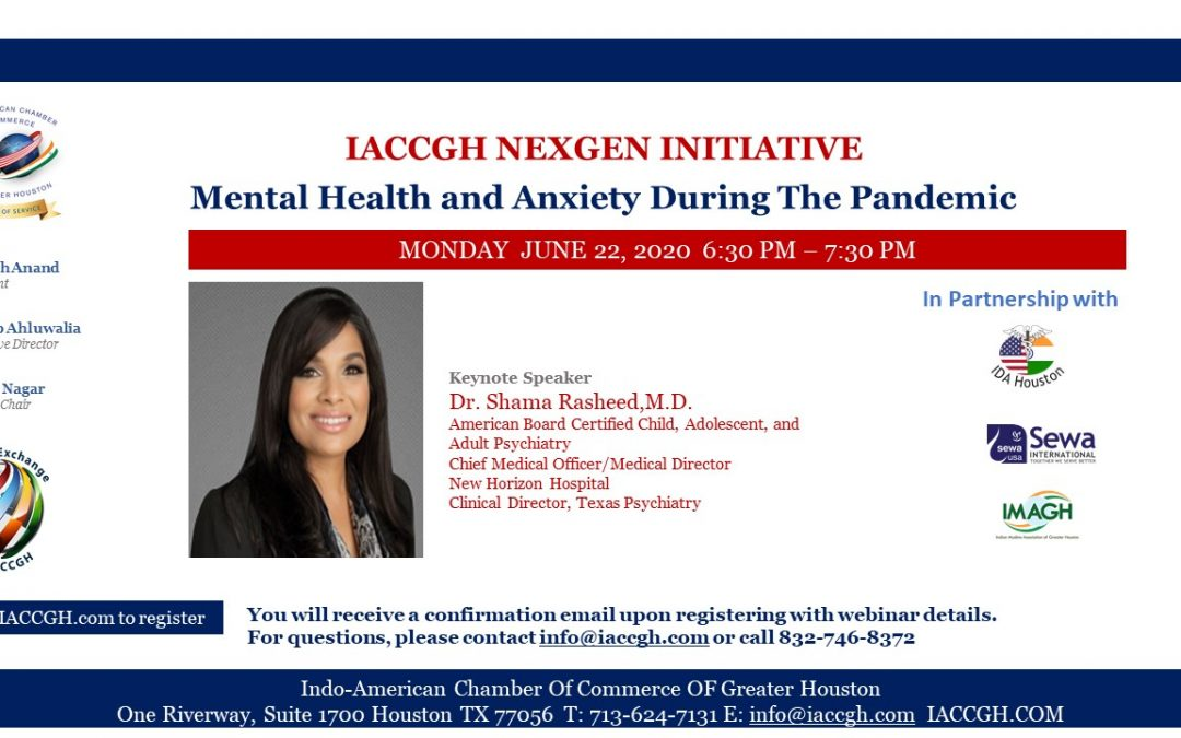 IACCGH Nexgen Initiative: Mental Health and Anxiety During The Pandemic