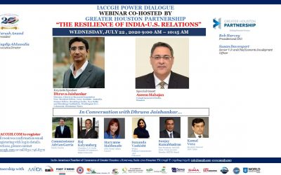 IACCGH Power Dialogue: The Resilience of U.S. India Relations
