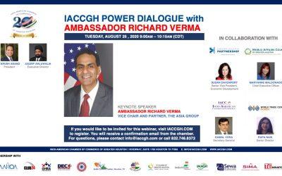 IACCGH Power Dialogue with Ambassador Richard Verma