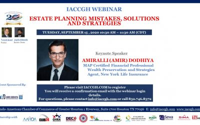 IACCGH webinar: Estate Planning Mistakes, Solutions and Strategies