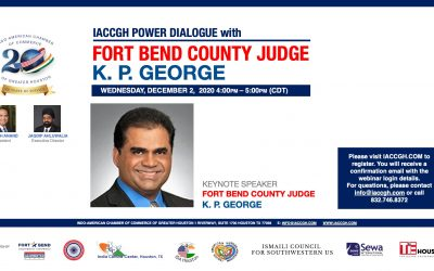 IACCGH Power Dialogue with Fort Bend County Judge K.P.George