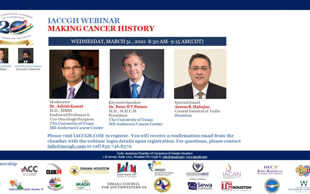 IACCGH Webinar- Making Cancer History
