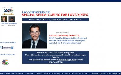 IACCGH webinar: Special Needs Caring For Loved Ones